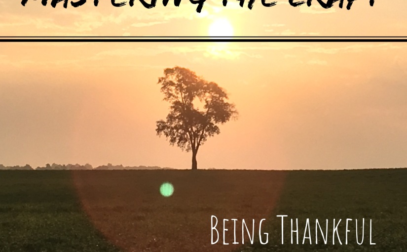 Being Thankful (revised)