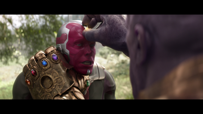 thanos gets the mind stone